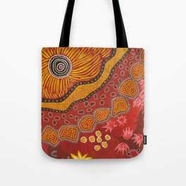 Aboriginal summer Tote Bag