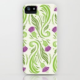 Thistles - Color PAttern iPhone Case