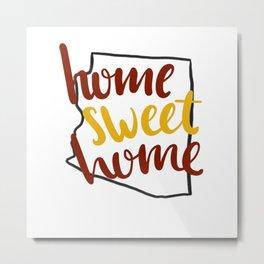 Home Sweet Home-ASU Metal Print