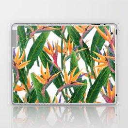 bird of paradise pattern Laptop & iPad Skin
