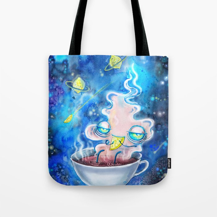 tea and the lemon universe Tote Bag