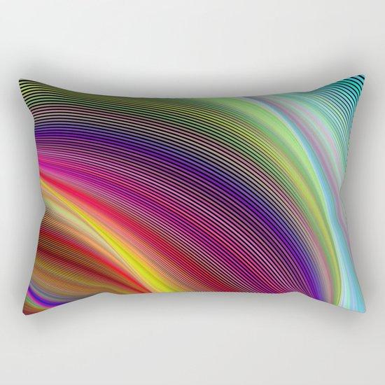 Vortex of colors Rectangular Pillow