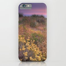 Flowers in the sand. Sea life iPhone 6 Slim Case