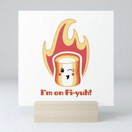 I'm on Fi-yuh Mini Art Print