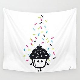 Pimp My Cupcake Wall Tapestry