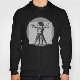 Vitruvian with spacer flair on Grey Hoody