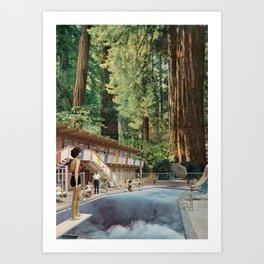 Pooldreamy Art Print