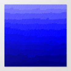 Blue in Shades Canvas Print