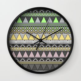 CELADON & HANSA YELLOW Wall Clock