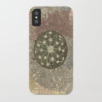 maps iPhone & iPod Cases featuring maps by INEPTUNE