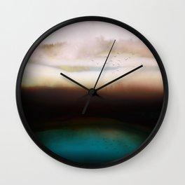 Winters Dusk Wall Clock