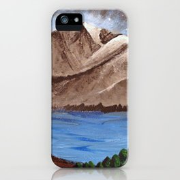 Serene Mountains iPhone Case