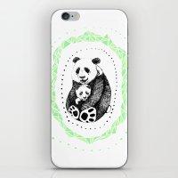 pandas iPhone & iPod Skins featuring PANDAS! by Sagara Hirsch