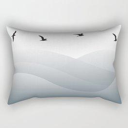 Ocean Birds Rectangular Pillow