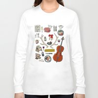 hannibal Long Sleeve T-shirts featuring Hannibal by Shanti Draws