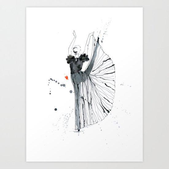 dancer*** Art Print