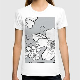 Merry Marsh Marigold - Black and White T-shirt