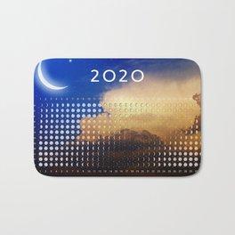 Moon calendar 2020 #3 Bath Mat