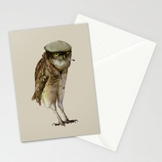 trendy owl Stationery Cards