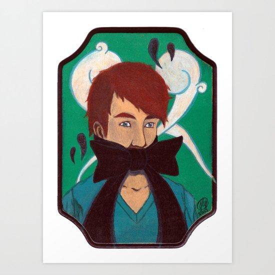 HUSH (Little Baby) Art Print