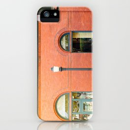 Street photography brick building afternoon I iPhone Case