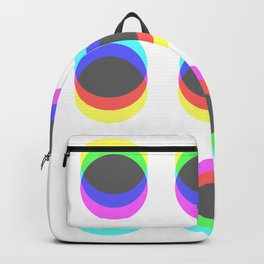 CMYK in RGB Circles Backpack