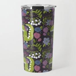 Dino burgundy Travel Mug
