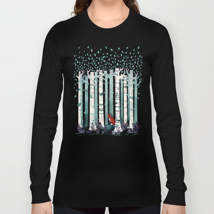 The Birches Langarmshirt