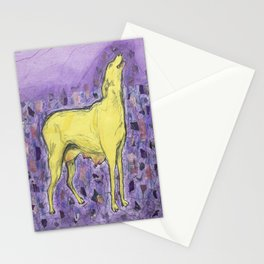 Howl by GJ Gillespie Stationery Cards
