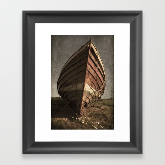 One Proud Boat Framed Art Print