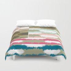 Color Splash Quilt  Duvet Cover