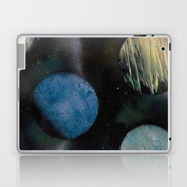 Loads of Planets - Spacescape - Spray Paint Art Laptop & iPad Skin