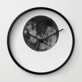 Black Moon Wall Clock