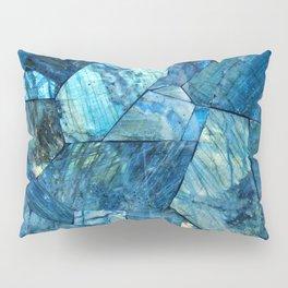 Labradorite Blue Pillow Sham