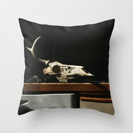 New Old Stock Throw Pillow