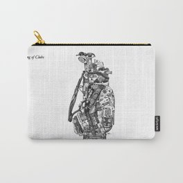 King of Clubs Carry-All Pouch