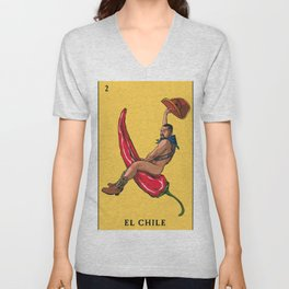 El Chile Unisex V-Neck