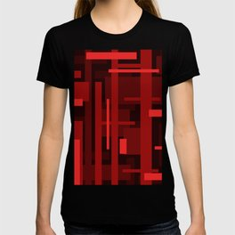 Red Rectagles T-shirt