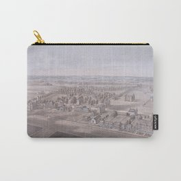 PRINCETON College map NEW JERSEY dorm decor graduate Carry-All Pouch