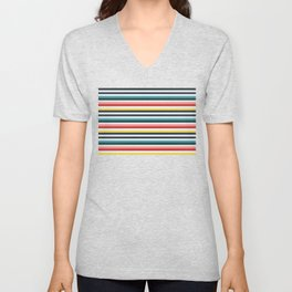 Candy-Strines Unisex V-Neck