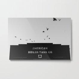 American Boiler & Tank Co Metal Print