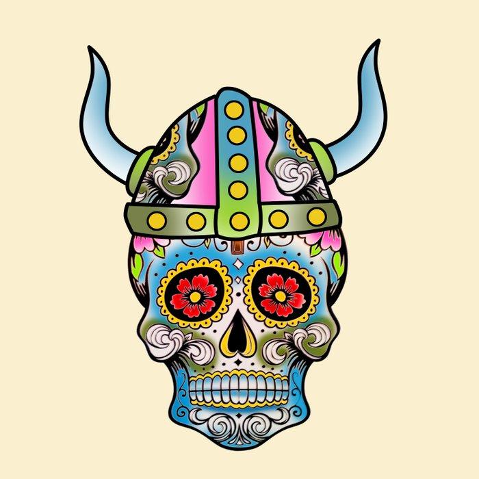 skull   Duvet Cover