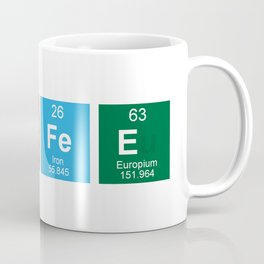 Periodic Table of Coffee Coffee Mug