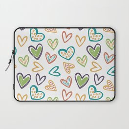Autunm Hearts Laptop Sleeve
