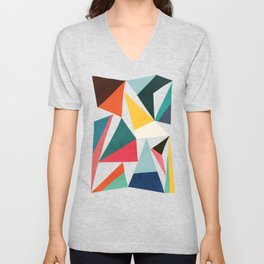 Collection of pointy summit Unisex V-Neck