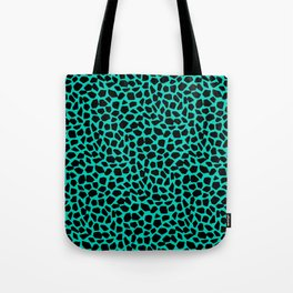 Berlin Boombox Animal Pattern Tote Bag
