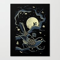 murakami Canvas Prints featuring wind up bird chronicle - murakami by miles to go