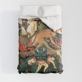 The demon that eats people Comforters