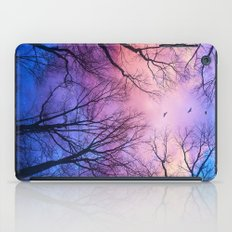 A New Day Will Dawn  (Day Tree Silhouettes) iPad Case
