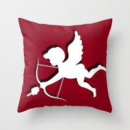 Fuckcupid Throw Pillow